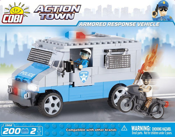 kocke cobi - ARMORED RESPONSE VEHICLE