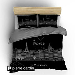 POSTELJINA PIERRE CARDIN PARIS Black