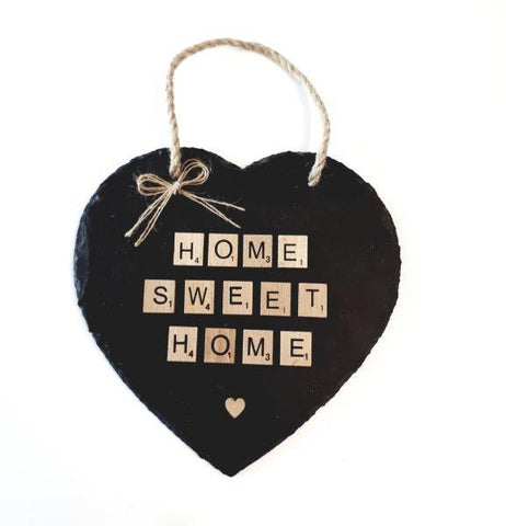 """Home Sweet Home"" Heart."
