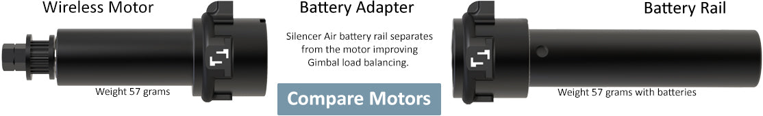 Battery Adapter with Wireless Motor & Battery Rail