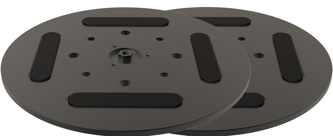 Six Inch Diameter Top and Bottom Turntable