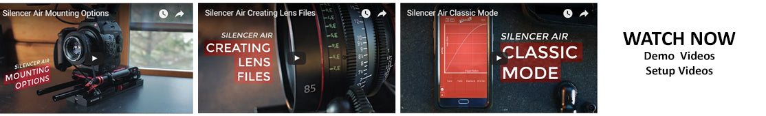 New Silencer Air+ All in One Follow Focus