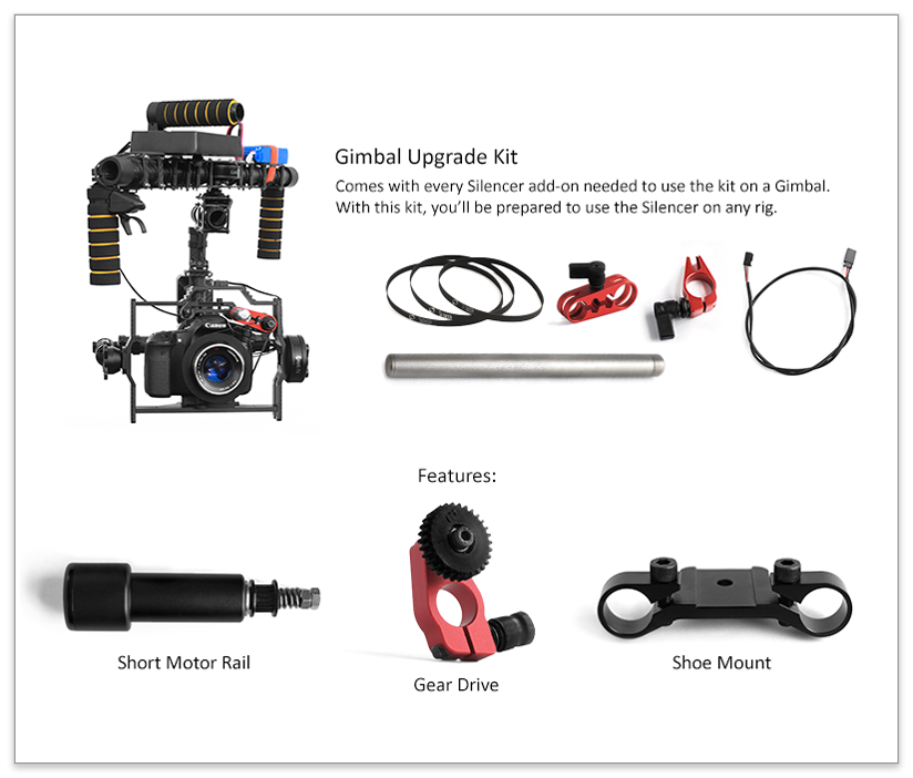 Gimbal Upgrade Kit