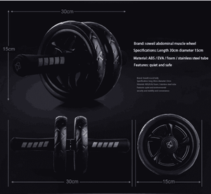 Tredfashions Home Fitness Wheel For Abs Training 2020!