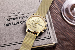 Tredfashions 100% Stainless Steel Luxury Watch - Tred Fashions