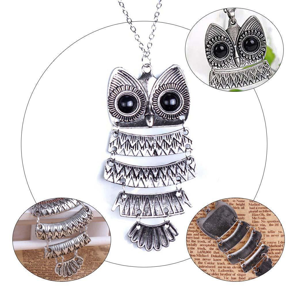 Tredfashions Premium Owl Necklace - Tred Fashions