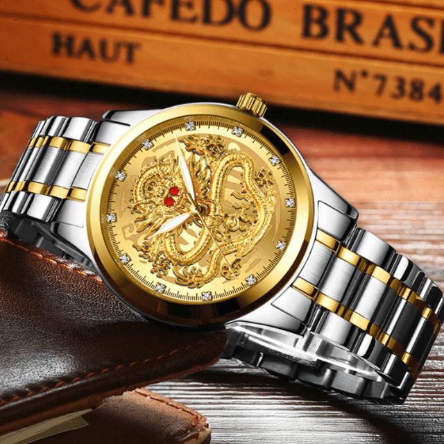 Tredfashions Luxury Anti-Scratch & Waterproof Dragon Watch 2019!