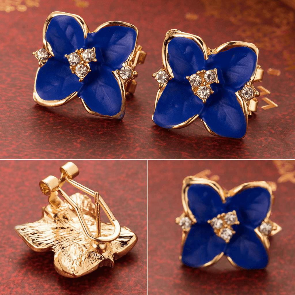 Tredfashions Unique Blue Flower Earnings 2017 - Tred Fashions