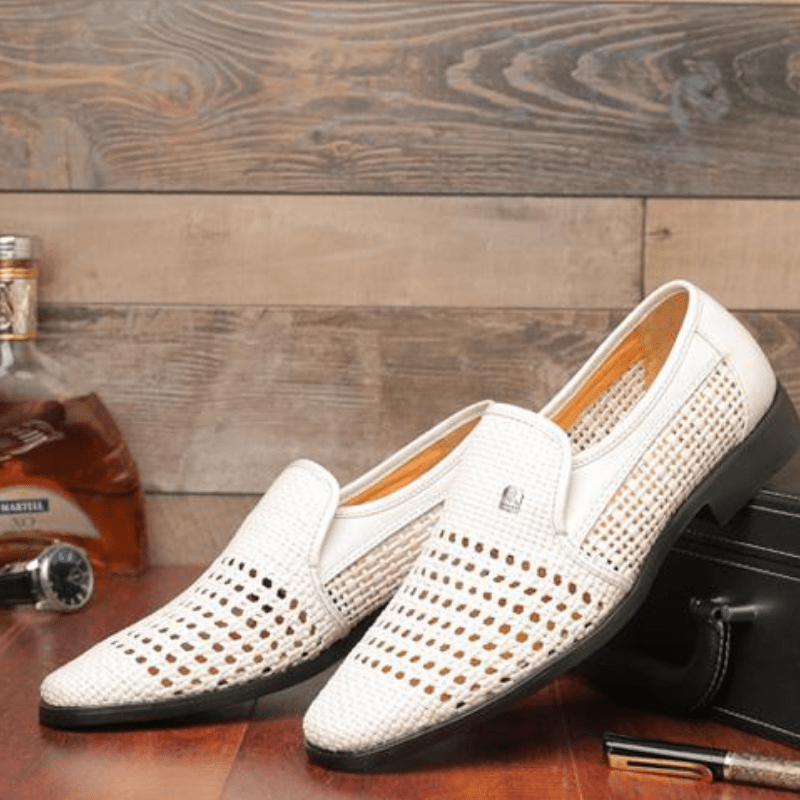 Tredfashions High Quality Premium Leather Slip On Shoes 2019!