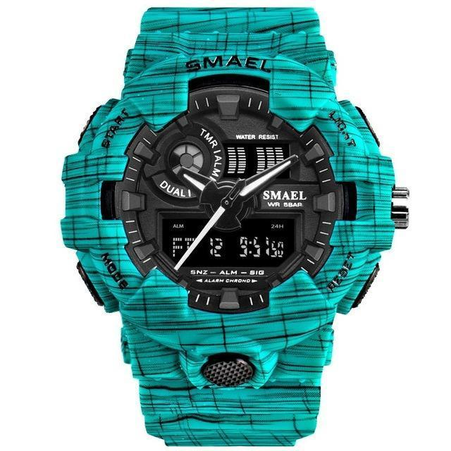Tredfashions Military Unique High Quality LED Sports Wristwatch 2019!