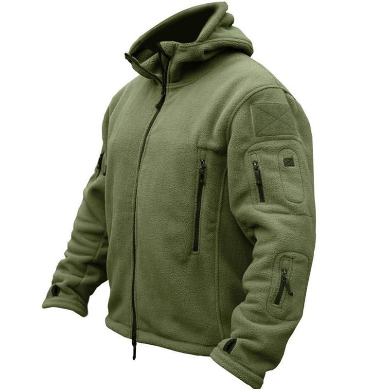 Tredfashions High Quality Warm Military Tactical Breathable Hooded Jacket 2019!