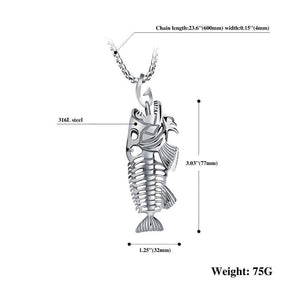 Tredfashions Premium Fishing Necklace - Tred Fashions