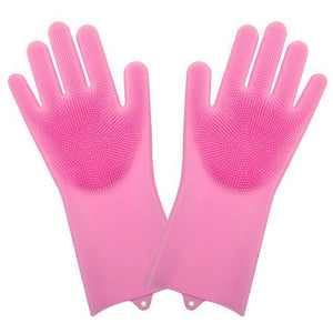Tredfashions Magical Unique Silicone Cleaning Kitchen Gloves 2019!