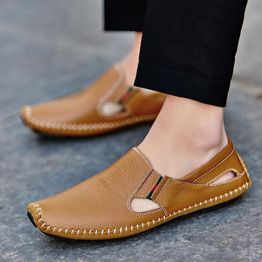 Tredfashions Unique Driving Leather Shoe 2018! - Tred Fashions