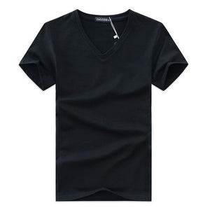 TREDFASHIONS 2019 SUMMER MEN V NECK T- SHIRT