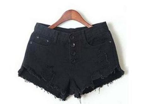 Tredfashions Women's Tassel High Waist Shorts 2018! - Tred Fashions