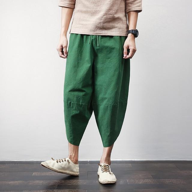 TREDFASHIONS SUMMER LINEN PANTS 2019