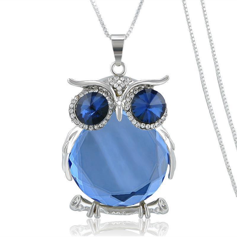 Tredfashions Premium Trendy Owl Necklace - Tred Fashions