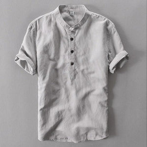 TREDFASHIONS MENS LINEN SHIRT 2019