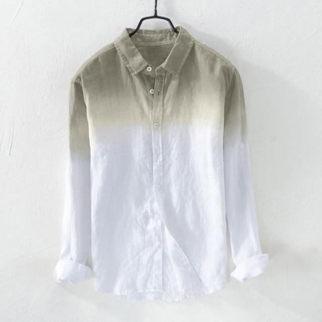 TREDFASHIONS MEN'S SUMMER LONG SLEEVE SHIRT 2019