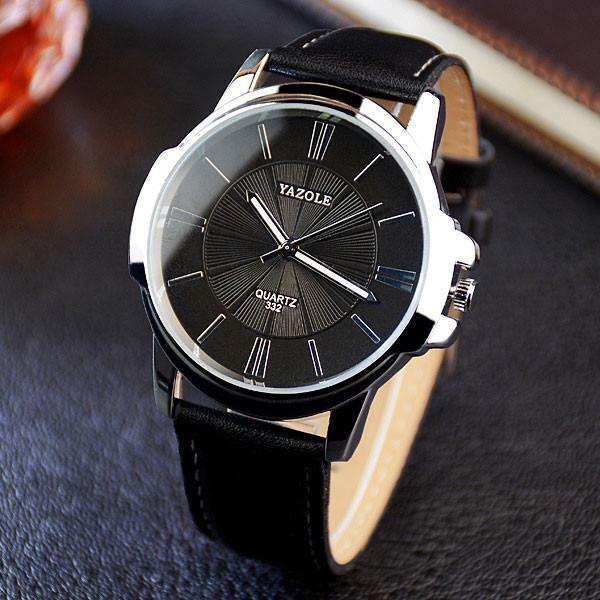Tred Fashions Black Black TredFashions Quartz Men Watch Luxury Business Mens Wrist Watch