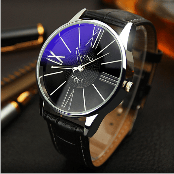 Tred Fashions Black TredFashions Modren Men Watch Business Quartz!