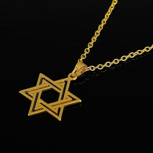 Tred Fashions Necklace Tredfashions Gold & Silver Star Of David Necklace