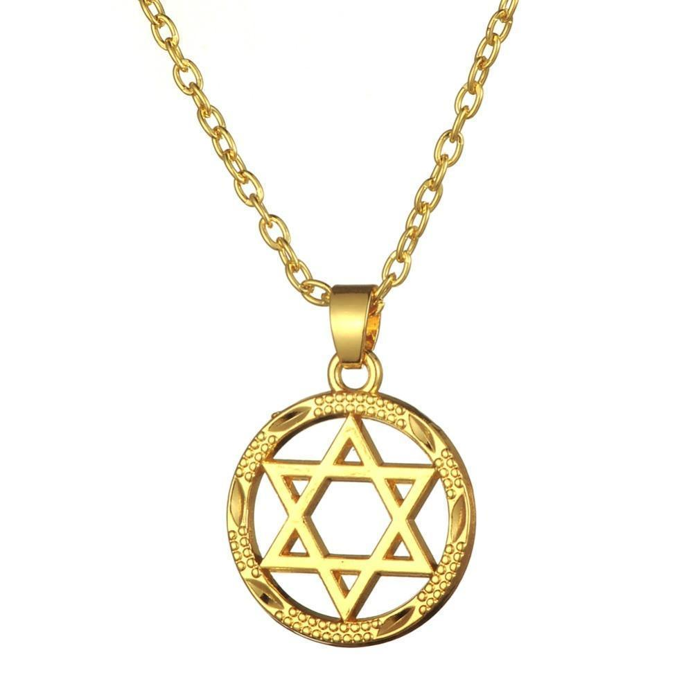Tred Fashions Necklace Tredfashions Star of David Gold Necklace