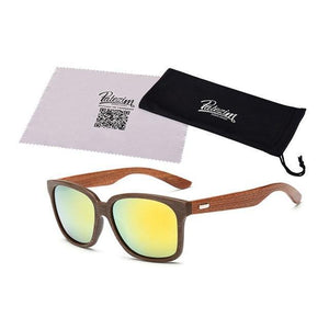Tred Fashions Sunglasses 04 / As shown Tredfashions Designer Wooden Frame Sunglasses