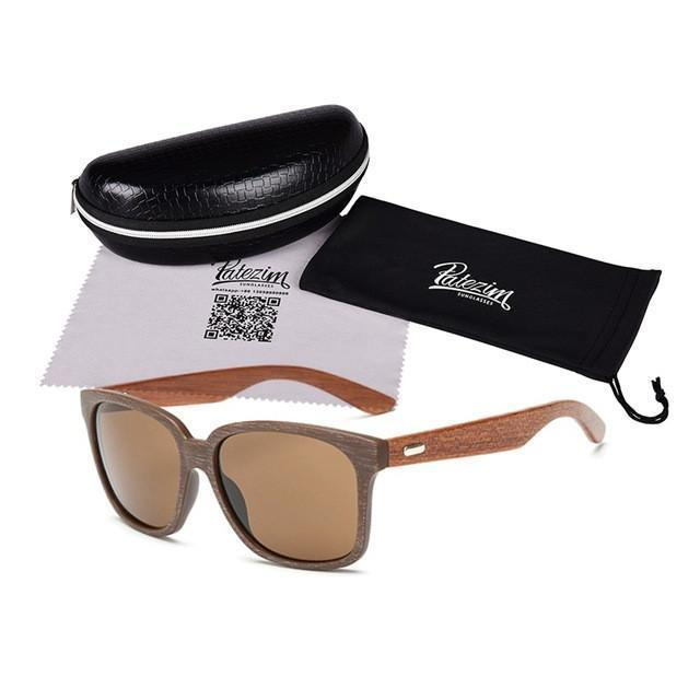 Tred Fashions Sunglasses 11 / As shown Tredfashions Designer Wooden Frame Sunglasses