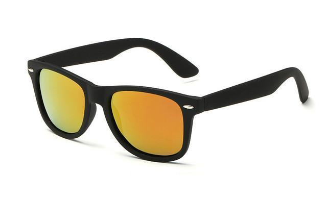 Tred Fashions Sunglasses Black Orange Tredfashions Sun Glass Polarized Men's Sunglasses