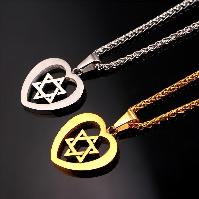 Tred Fashions Tredfashions Jewish Jewelry Magen Star Of David