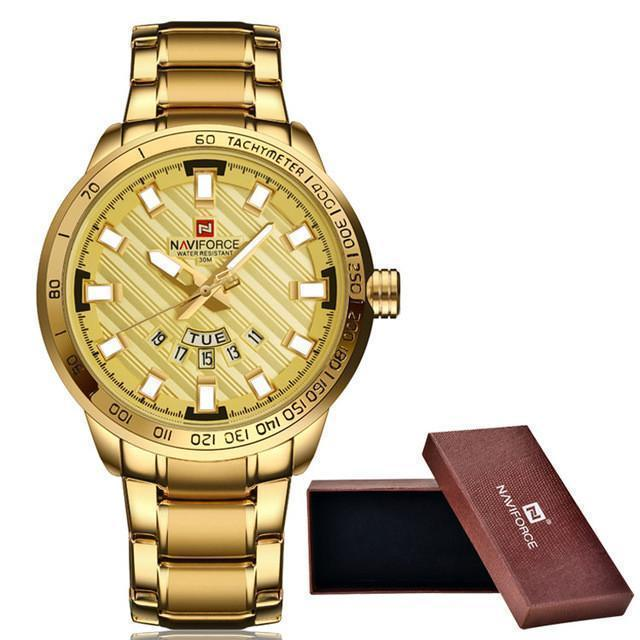 Tred Fashions Watch all gold Tredfashions Luxury Men's Watch