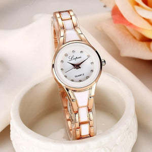 Tred Fashions Watch Gold White1679 TredFashionsi Summer Style Gold Watch  Women Wristwatch