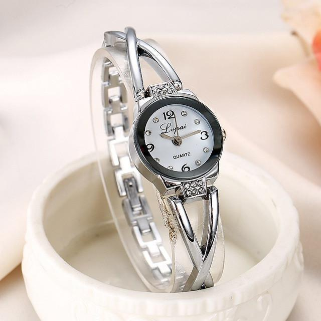 Tred Fashions Watch Silver White 744 TredFashionsi Summer Style Gold Watch  Women Wristwatch