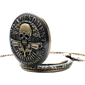 Tred Fashions watch TredFashions Men Skull Pocket Watch