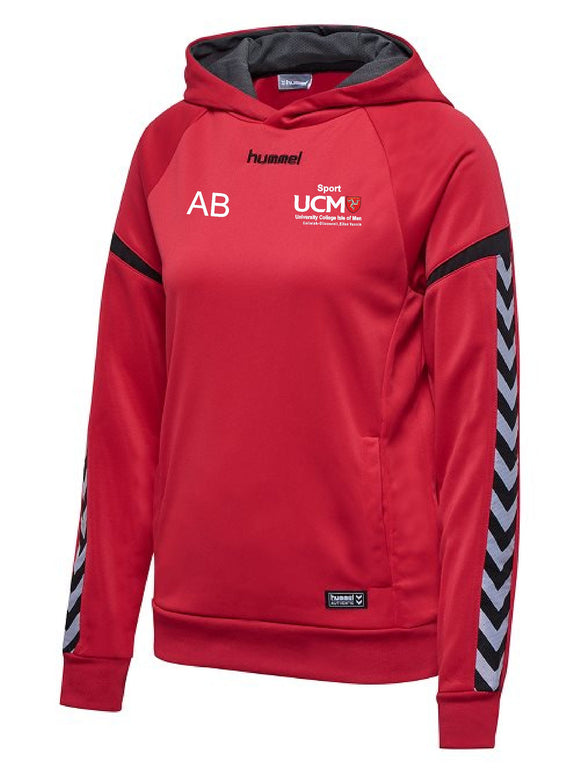 HUMMEL HOODIE AUTHENTIC CHARGE MENS University College Isle Of Man
