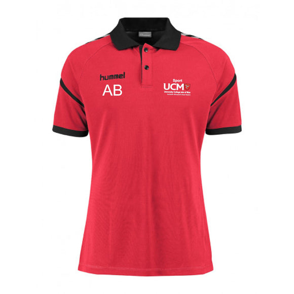 HUMMEL POLO AUTHENTIC CHARGE MENS University College Isle Of Man