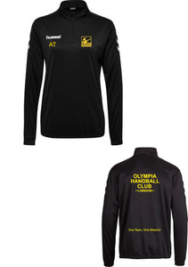 Hummel Olympia Handball Club Core 1/2 Zip Sweatshirt Womens