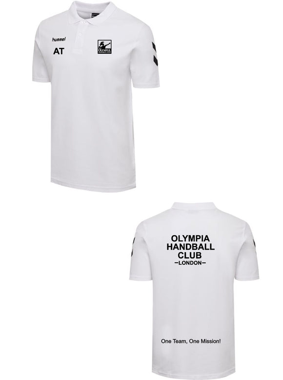 Hummel Olympia Handball Club Go Cotton Polo Mens/Boys