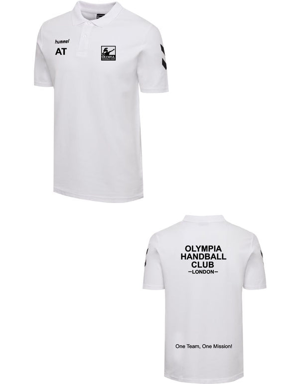 Hummel Olympia Handball Club Go Cotton Polo Womens