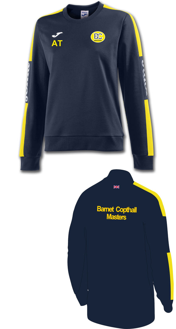 Ladies Sweatshirt Barnet Copthall