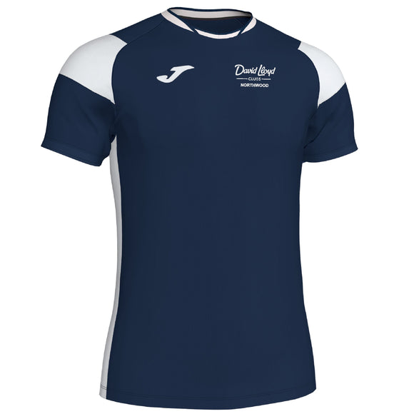 Joma Crew 3 T-Shirt Mens/Boys David Lloyd Northwood