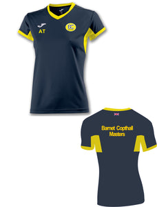 Ladies T-Shirt Short Sleeve Barnet Copthall