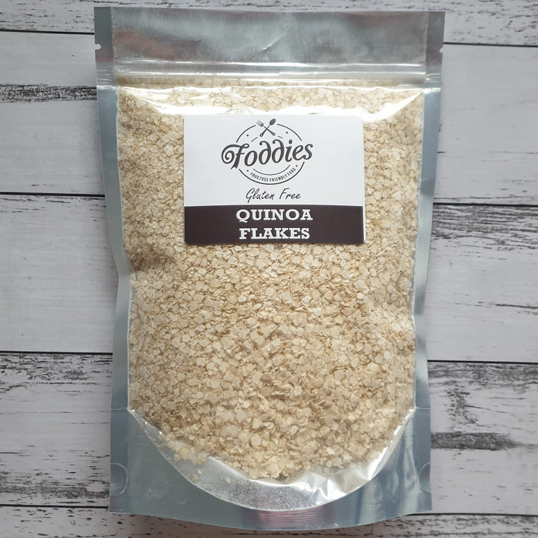 White Quinoa Flakes - Foddies Low FODMAP