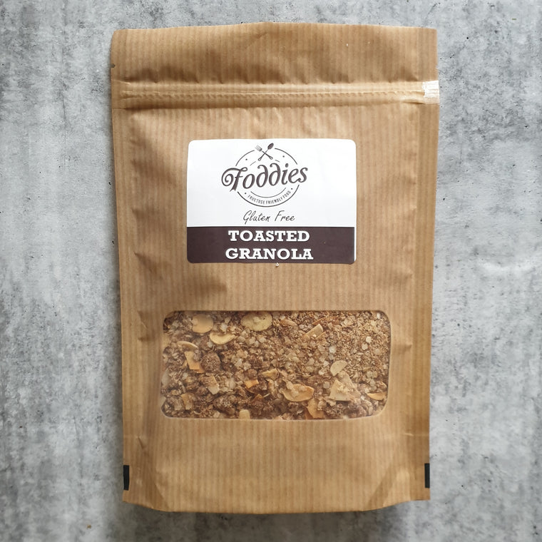 Toasted Granola - Foddies Low FODMAP