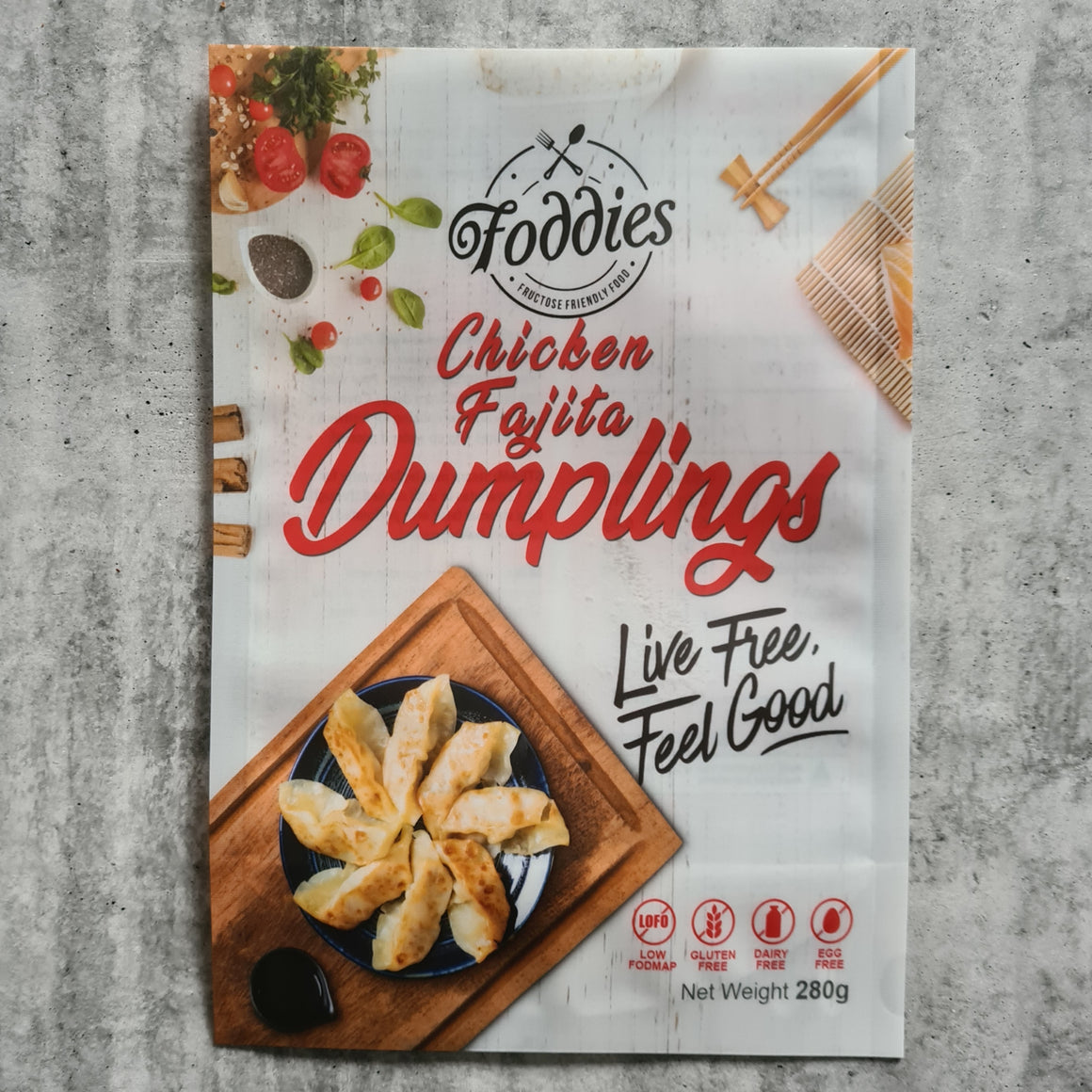 Low FODMAP Chicken Fajita Dumplings - Foddies