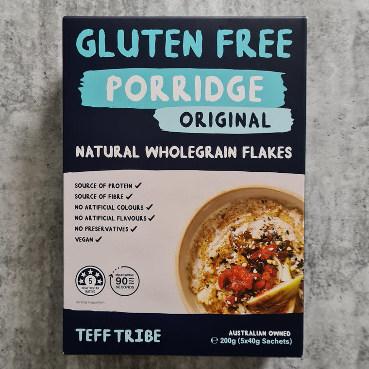Teff Tribe - Porridge (5 x 40g Satches) - Foddies