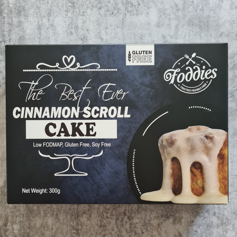 Cinnamon Scroll Cake - 300g - Foddies
