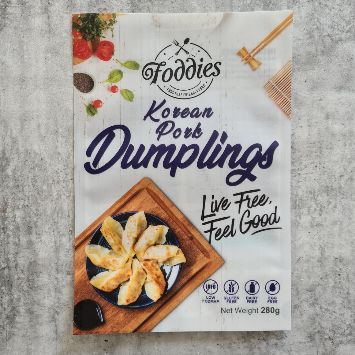 Korean Pork Dumplings - Foddies Low FODMAP